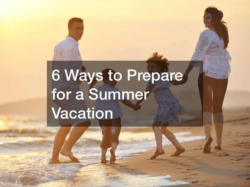things to do to prepare for vacation